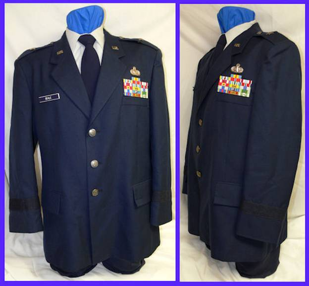 Air force uniforms