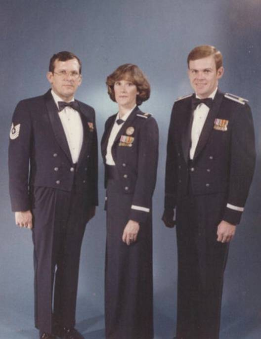 Air force dress mess uniform