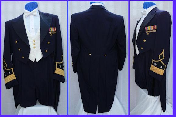 Military evening dress uniform